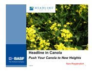 Headline in Canola - Canola Council of Canada