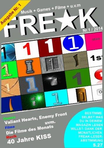 FREAK-Magazin - Ausgabe 1