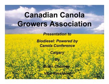 Download presentation - Canola Council of Canada