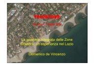 Domenico DE VINCENZO - sperimentazione ICZM in aree pilota