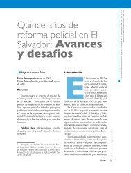 y desafíos - Flacso Andes