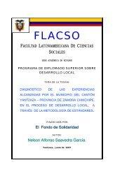 capítulo i - Flacso Andes
