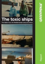 The toxic ships