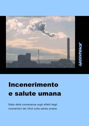 Incenerimento e salute umana - Greenpeace Italia