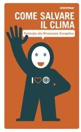 COME SALVARE IL CLIMA - Greenpeace
