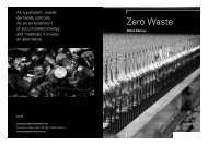 Zero Waste by Robin Murray, Greenpeace Environmental Trust 2002