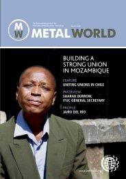 Metal World 2 2010 - International Metalworkers' Federation
