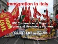 Presentation - International Metalworkers' Federation