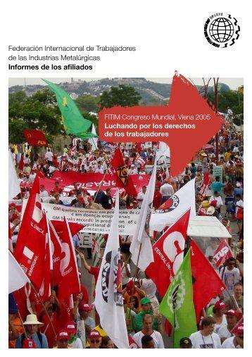 Federación Internacional de Trabajadores de las Industrias ...