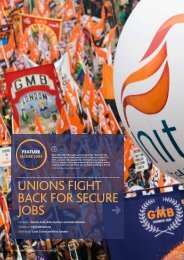 unions fight back for secure jobs - International Metalworkers ...