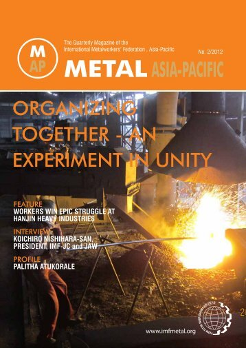 Issue 2 - International Metalworkers' Federation
