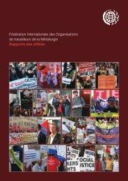 Rapports des affiliés - International Metalworkers' Federation