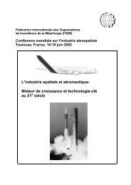 L'industrie spatiale et aéronautique: Moteur de croissance et ...