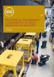 mechanical engineering: fundamental to most branches of industry