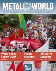 Download - International Metalworkers' Federation