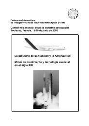 La Industria de la Aviación y la Aeronáutica: Motor de crecimiento y ...
