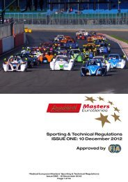 Download the 2013 Radical Masters Euroseries Entry Pack here