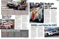 Radicals set for 2011 series - Radical Sportscars