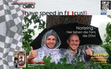 {have speed in f[ ]cus!} 04 Rennen DTM 2014 Norisring