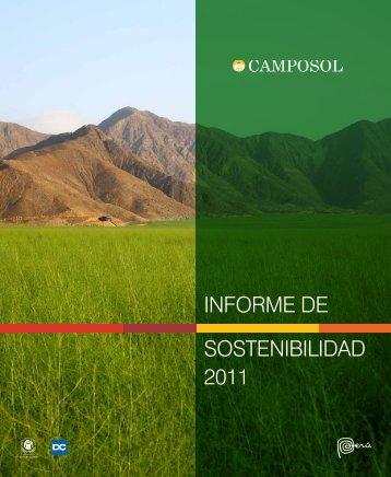 Reporte de Sostenibilidad 2011 - Camposol