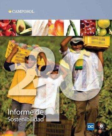 Reporte de sostenibilidad 2010 - Camposol