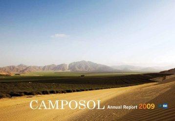 Annual Report 2009 - Camposol