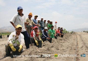 Reporte de sostenibilidad 2009 - Camposol