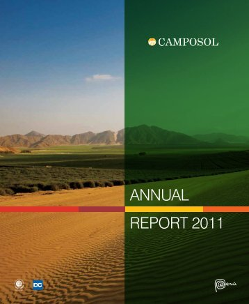 ANNUAL REPORT 2011 - Camposol