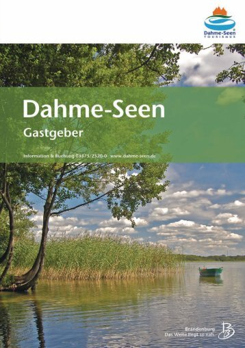 Brandenburg - Tourismusverband Dahme-Seen eV
