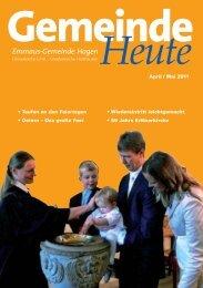 Kirchmaifest 28. und 29. Mai 2011 - Aktuelle Information