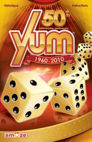 Voir l'historique du jeu Yum - Gladius