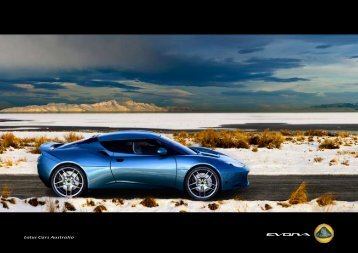 Download Brochure - Lotus Cars Australia