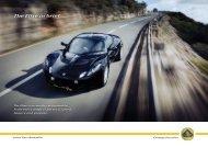 The Elise in brief - Lotus Cars Australia