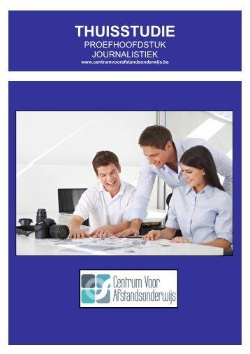 CURSUS JOURNALISTIEK - Ondernemersschool
