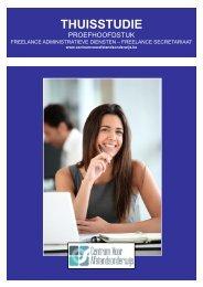 cursus freelance administratieve diensten - Ondernemersschool