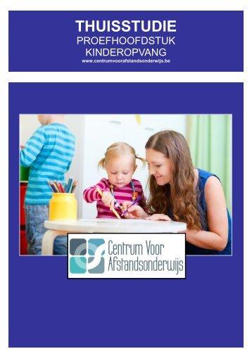 kinderopvang - Ondernemersschool