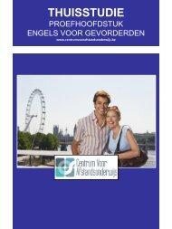 ENGELS VOOR GEVORDERDEN - Ondernemersschool