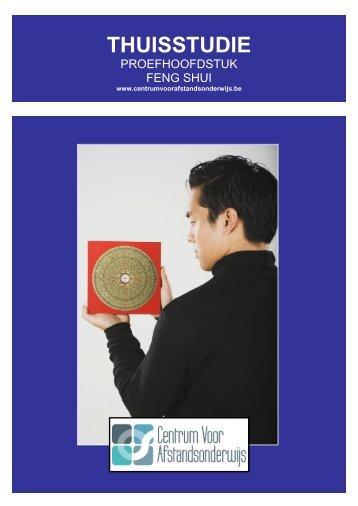 CURSUS FENG SHUI - Ondernemersschool