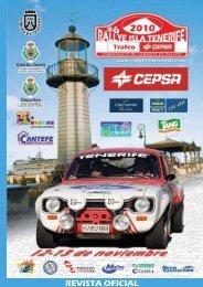 Prensa - Rallye isla de Tenerife