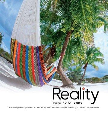 Rate card 2009 - RamsayMedia