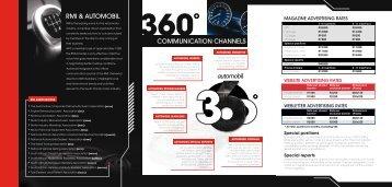 Automobil advertising rate card - RamsayMedia