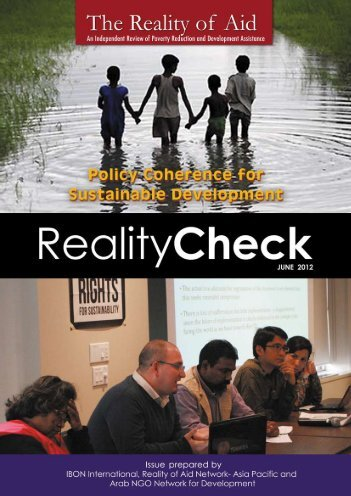 Policy Coherence for Sustainable Development - Reality of Aid