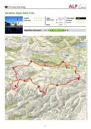 Fernwanderweg Rundtour Alpen Adria Trail - Region Villach
