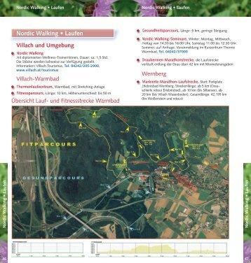 Nordic Walking • Laufen - Region Villach
