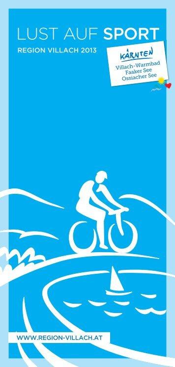 Lust auf Radfahren 2013 - Region Villach