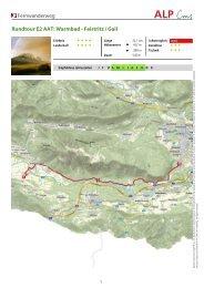 Fernwanderweg Rundtour E2 AAT: Warmbad ... - Region Villach