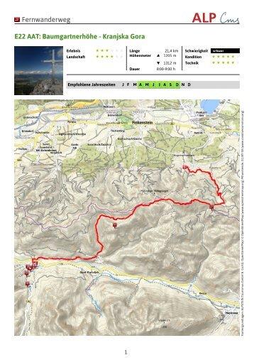 Baumgartnerhöhe - Kranjska Gora - Region Villach