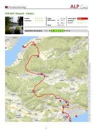 Fernwanderweg E20 AAT: Ossiach - Velden - Region Villach