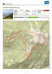 Wanderung Gerlitzen Rundwanderung - Region Villach