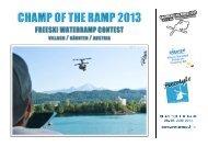 Sponsoring_Champ Of The Ramp 2013 - Region Villach